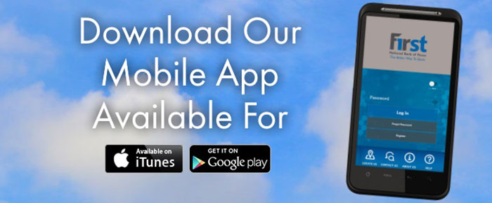Download our mobile app available for iPhone and Android
