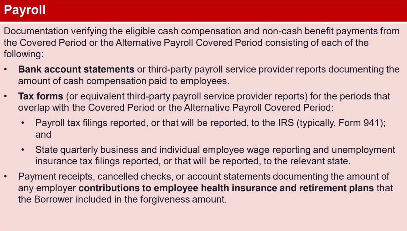 Payroll Documentation Examples
